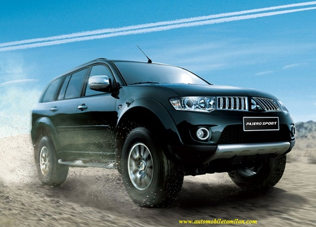 pajero sports car