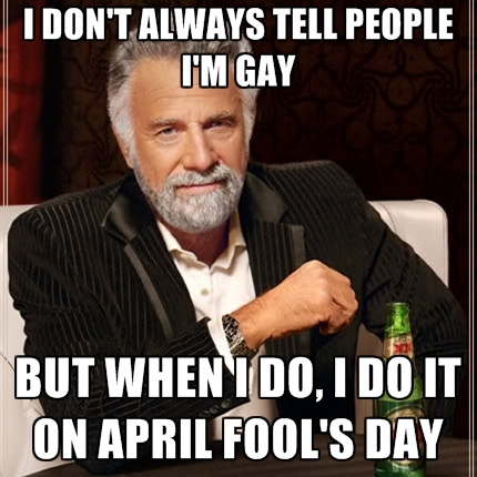 Adult april day fool joke