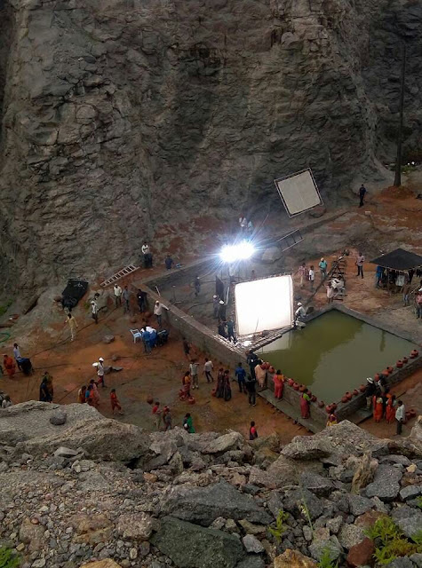 Baahubali 2 Shooting stills Leaked