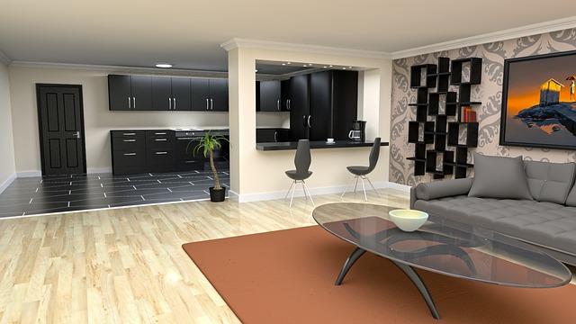 Architecture Interior Room Modern Floor Design