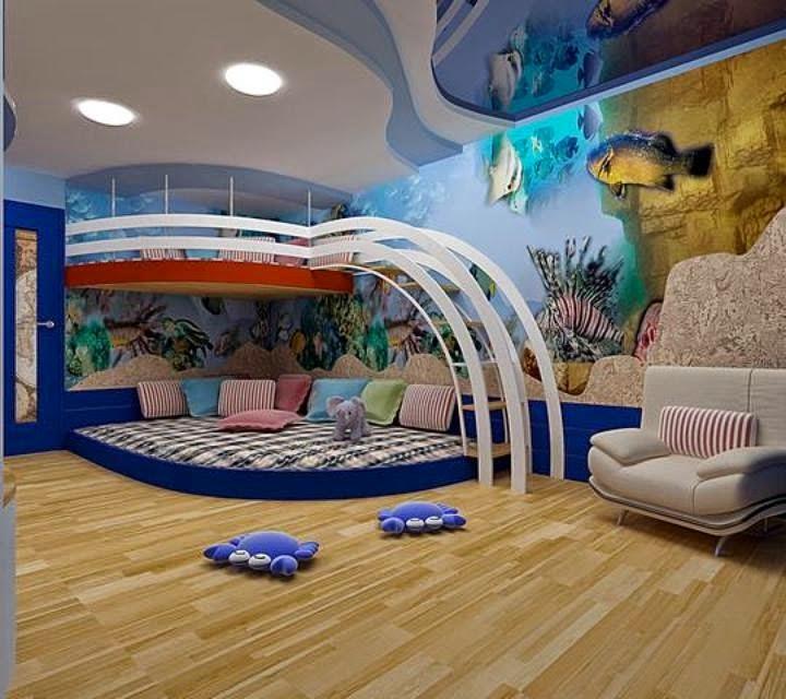 Cuarto original para ni o dormitorios colores y estilos - Colores habitacion nino ...