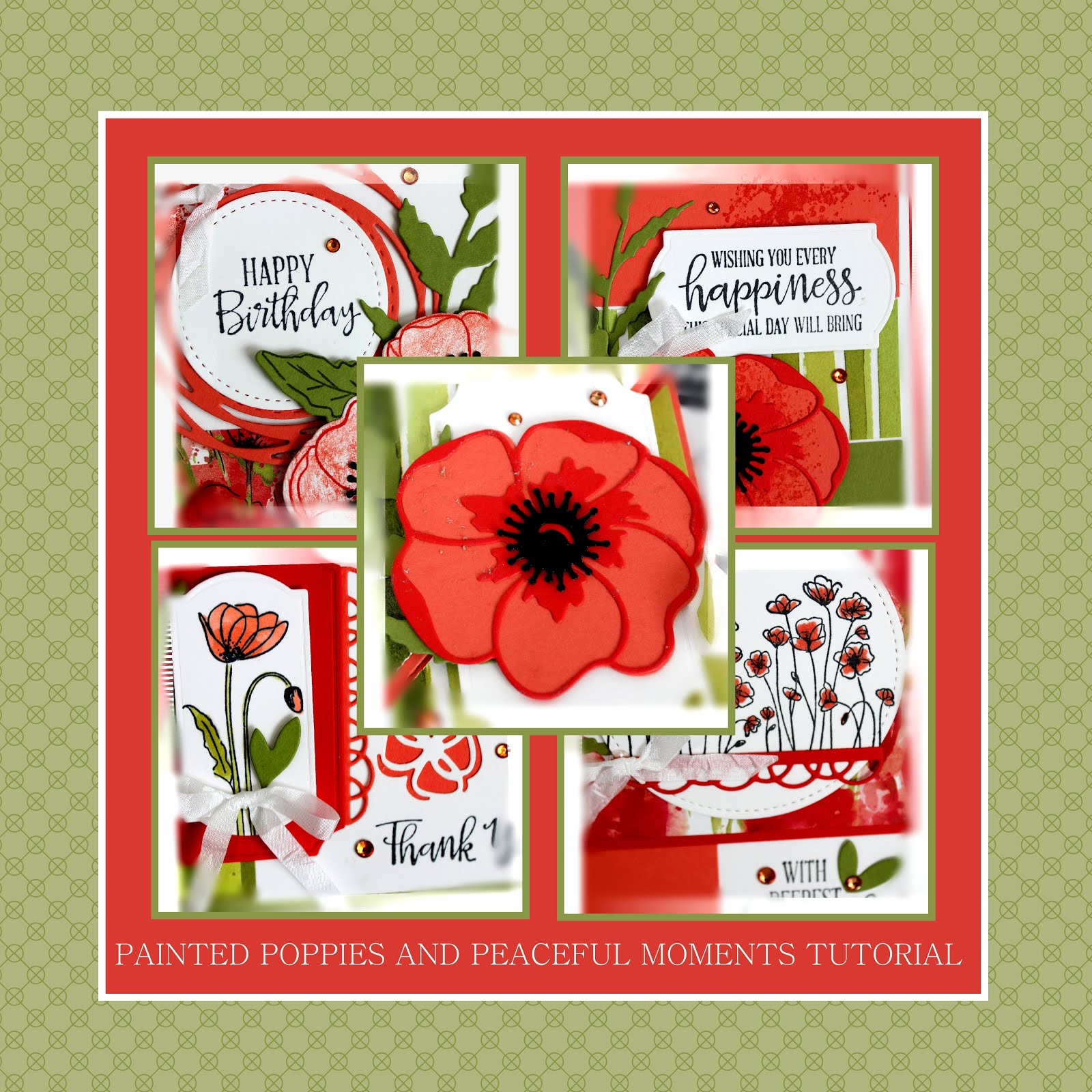 February 2010 Painted Poppies and Peaceful Moments Tutorial