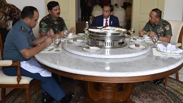 Panglima TNI Minta Jokowi Tambah Tunjangan Tentara Perbatasan