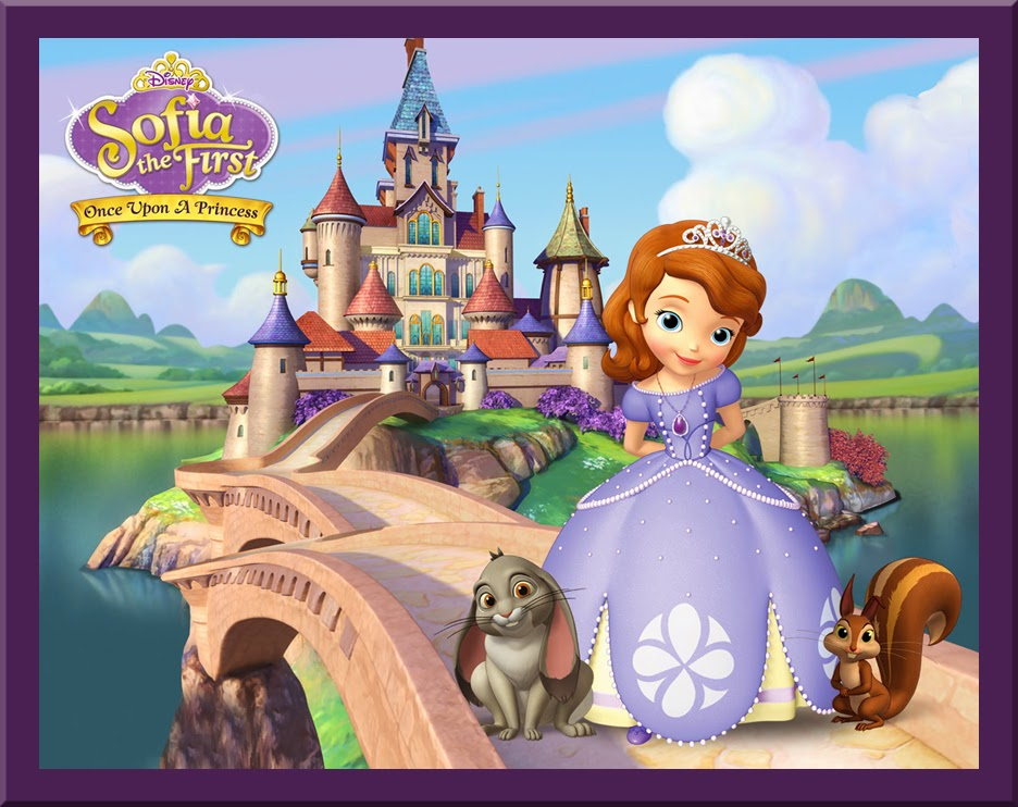 Princess Sofia goes to a Party Images.