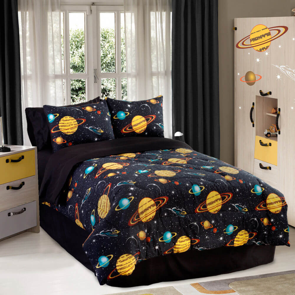 7 Big Ideas Galaxy Bedroom Theme Decor Dare to Try Interior