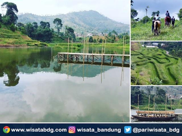 Taman Lembah Dewata, Spot Foto Selfie dan Pre-Wedding di Lembang