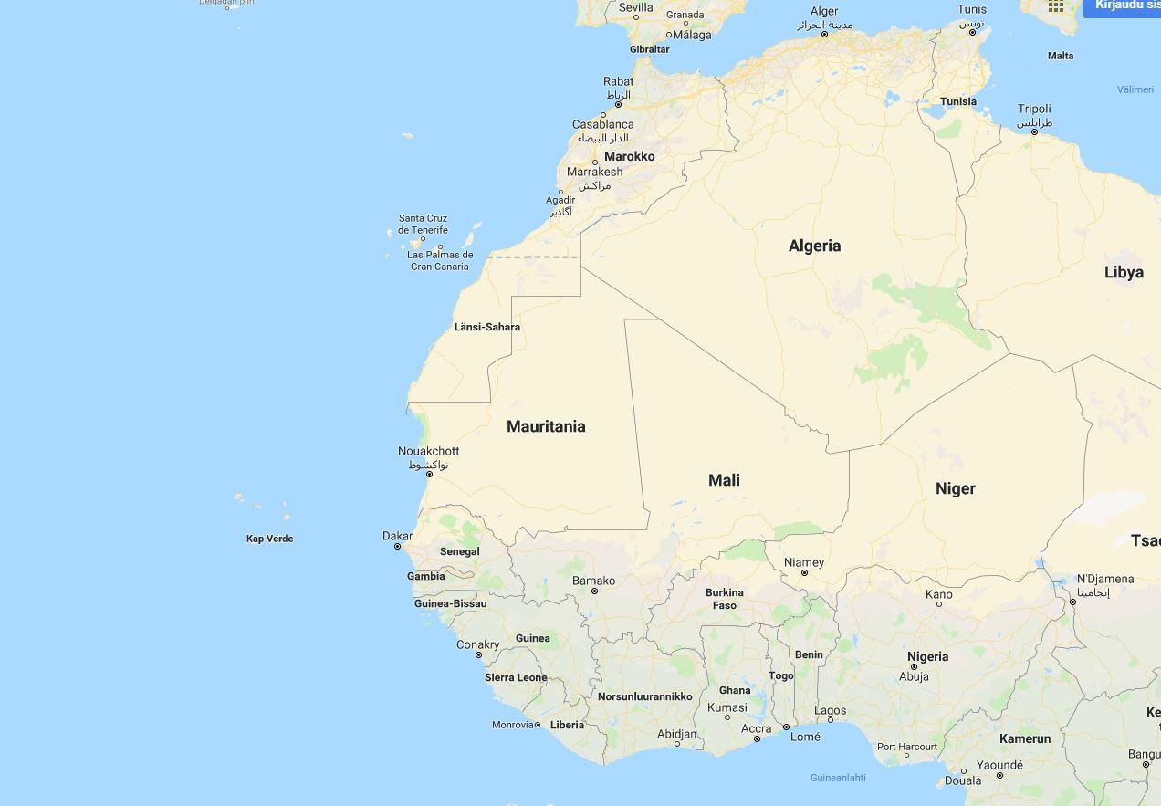 Vieraana Maailmalla Kap Verde 2018 Paiva 1