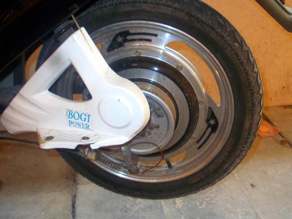 Menentukan Dinamo Pada Sepeda Motor Listrik Electric Art
