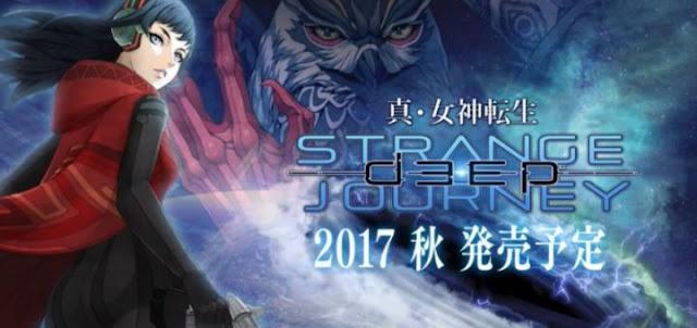 Se anuncia Shin Megami Tensei: Deep Strange Journey para Nintendo 3DS