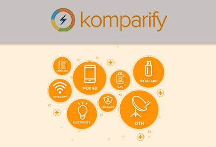 Komparify: Flat 50% Cashback Upto Rs 200 On Recharge/Bill Payment