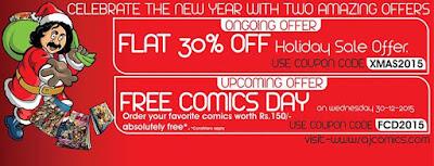 Free Comics Day | Raj Comics