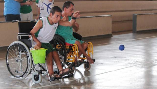 Bocha Paralímpica é o destaque dos Jogos Abertos neste fim de semana