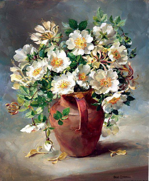 Im genes arte pinturas bodegones con jarrones de flores - Donde estudiar pintura ...