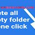 Delete all empty folder on just one click  Android mobile phone user's | TAMIL TECHNICAL TIPS