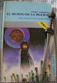 Portada del libro El mundo de la muerte, de Harry Harrison