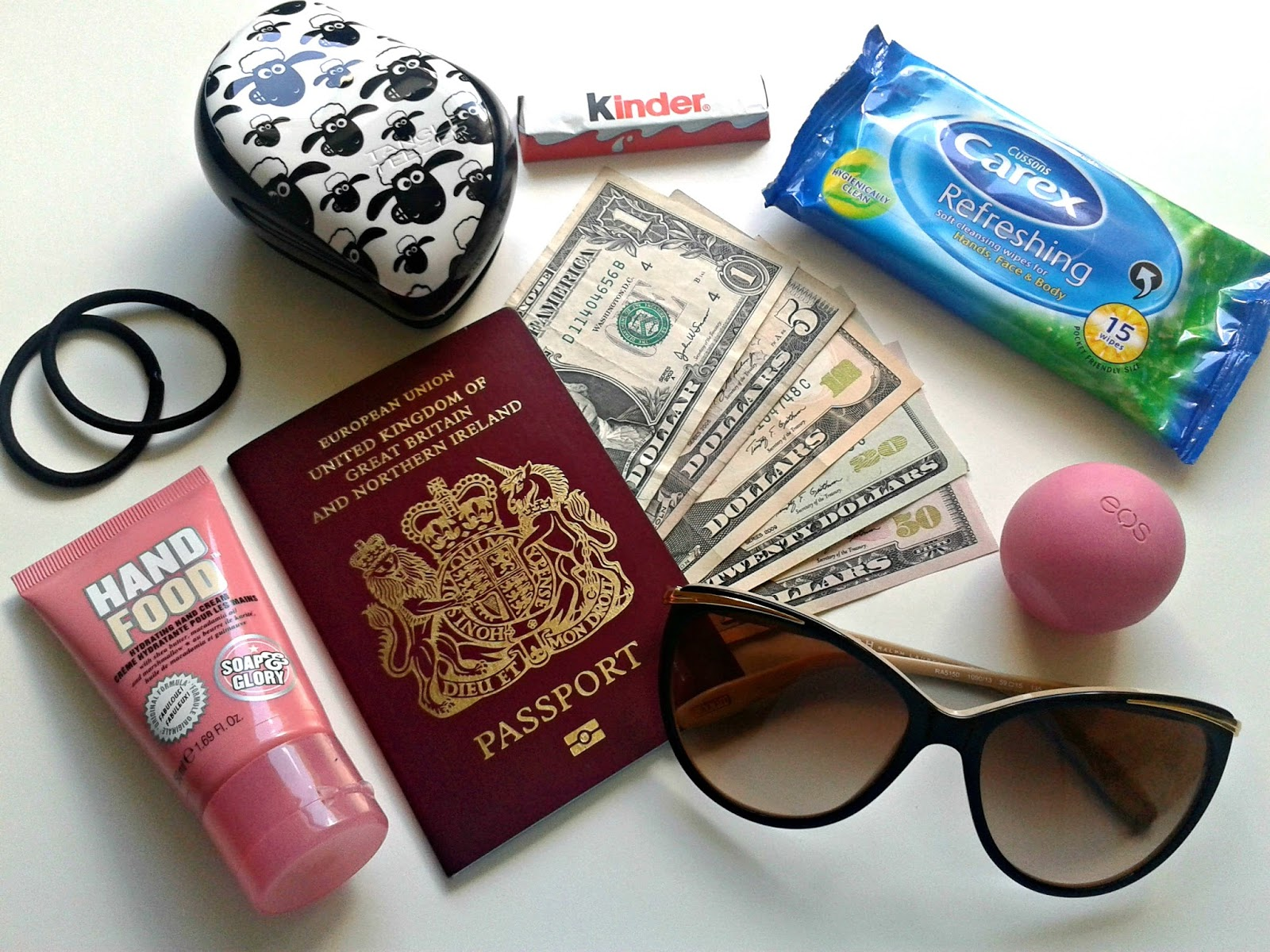 Ellis Tuesday's Summer Sun-days: Hand Luggage / Designer Sunglasses Giveaway Ralph by Ralph Lauren Sunglasses Shop Soap & Glory Tangle Teezer EOS Travel Beauty Review