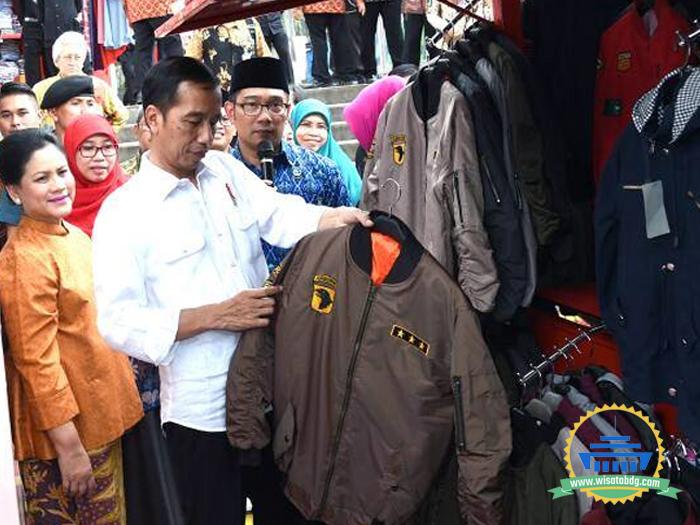 Kunjungan Jokowi ke Teras Cihampelas Bandung