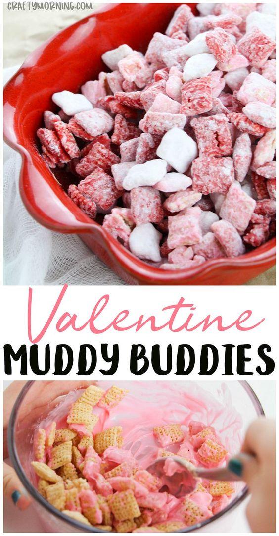 Valentine Muddy Buddies