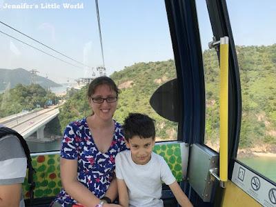Hong Kong Ngong Ping 360 cable car