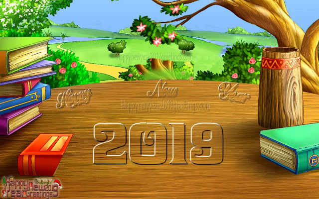 Happy New Year 2019 3D Graphics Pictures