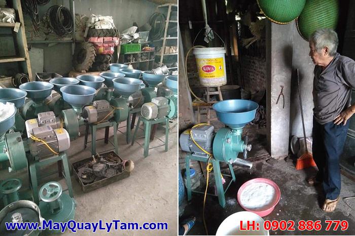 Kiểm tra kỹ lưỡng và cho chạy thử máy xay đậu nành công nghiệp, máy nghiện bột ướt trước khi xuất xưởng