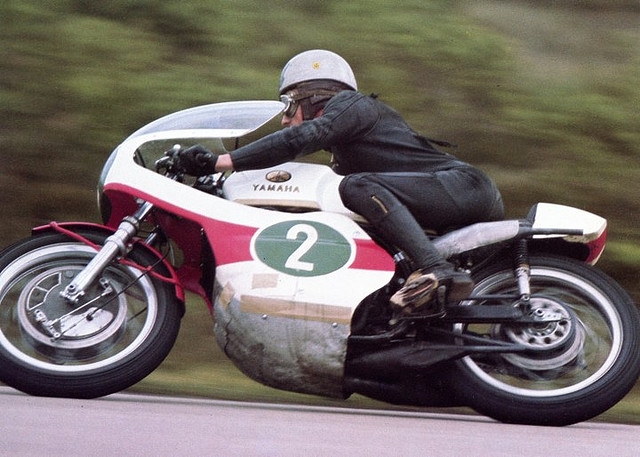 Bike Picture Of The Day Bill Ivy On A 250 Yamaha Twin