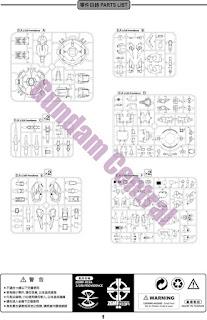 Devilarts: MG 1/100 Providence Gundam Manual and Runner