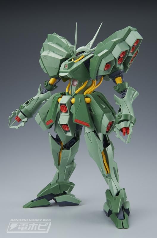 RE/100 AMX-103 Hamma Hamma Sample Images by Dengeki Hobby - Gundam Kits Collection News and Reviews
