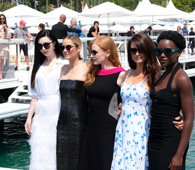 355 spy movie ladies Cannes Film Festival