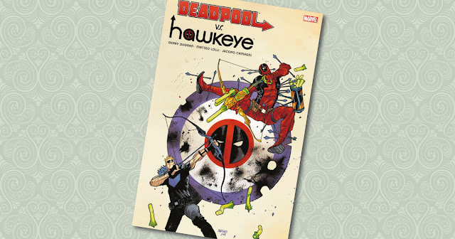 Deadpool VS Hawkeye Panini Cover