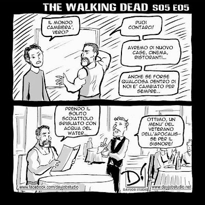 The Walking Dead 5x05 (Dayjob Studio)