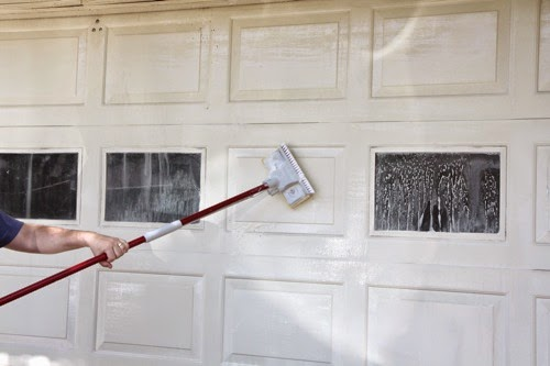 Garage door Portland cleaning
