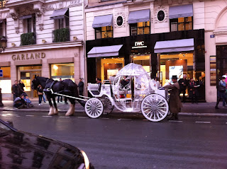 Carrosse princesse paris