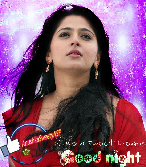 Good night Anushka