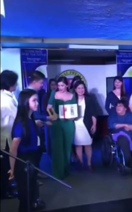 Angel Locsin was Hailed as the 'Pinaka Huwarang Artista' of the Year!