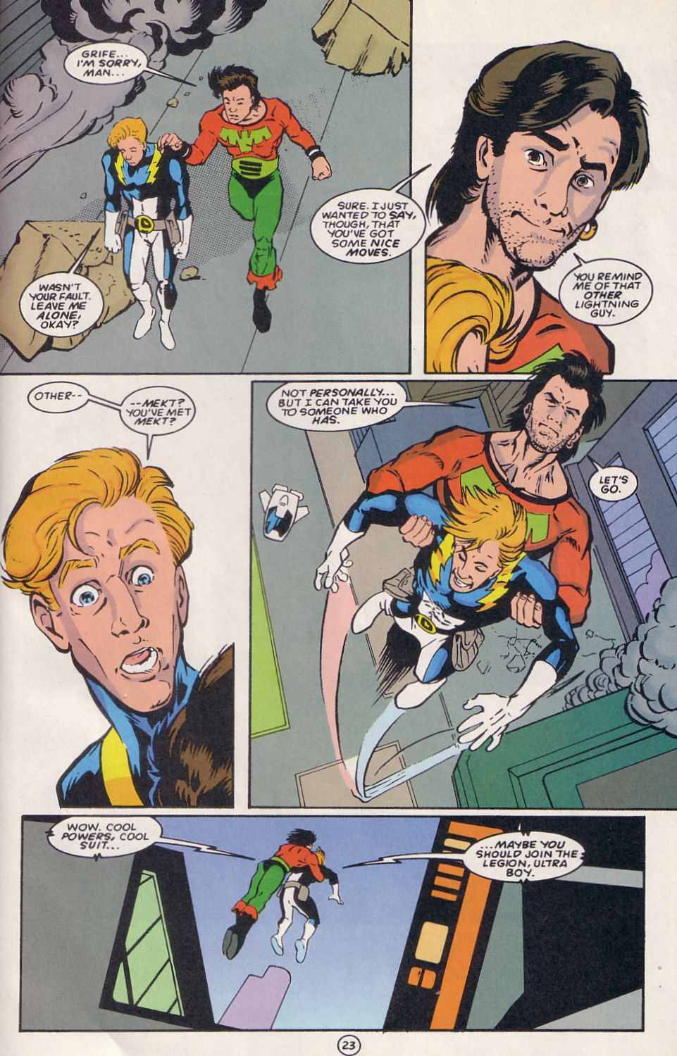 Legion of Super-Heroes (1989) 64 Page 23