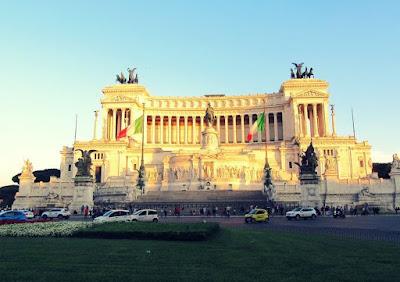 Monumento a Vittorio Emanuele. Roma, Italia.