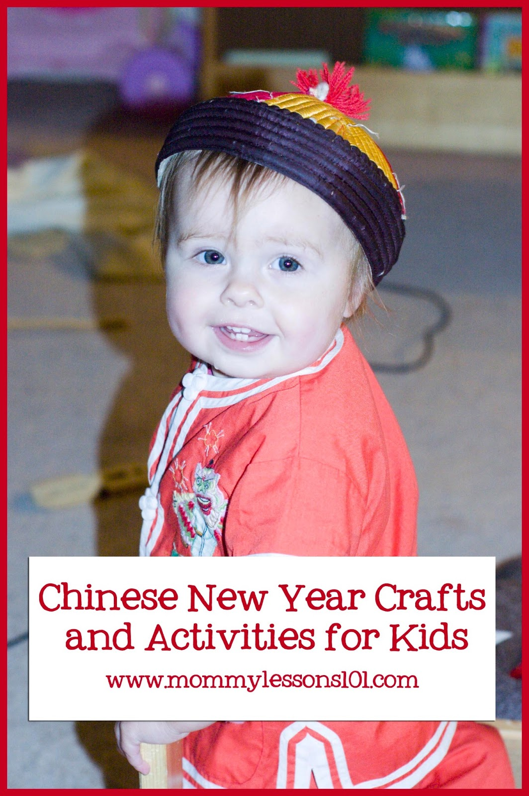 Mommy Lessons 101 Chinese New Year Crafts Books And