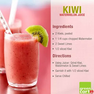 kiwi watermelon juice