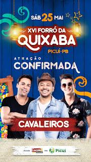 Confirmada mais uma grande atração musical para o XVI forró da Quixaba, zona rural de Picuí