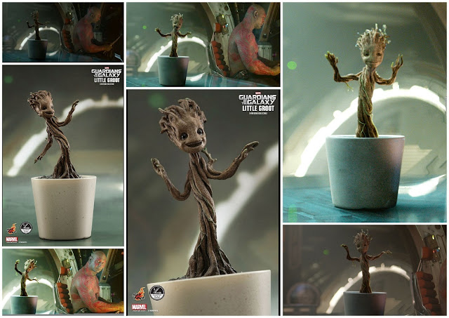 Dancing Baby Groot: Free Printable Invitations, Gif and Video.