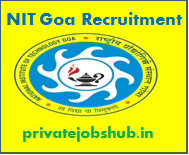 NIT Goa Recruitment