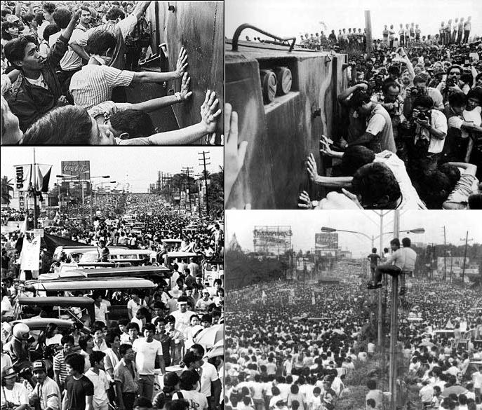 essay about edsa people power revolution Edsa 1, also known as people power 1, was the four-day non-violent uprising in february 21-25, 1986 led to the ouster of dictator ferdinand marcos and the installation of corazon aquino as the country's new president.
