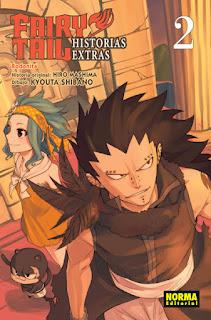 """Reseña de """"Fairy Tail Historias Extras vol. 2: Rodonita"""" de Hiro Mashima y Kyouta Shibano - Norma Editorial"""