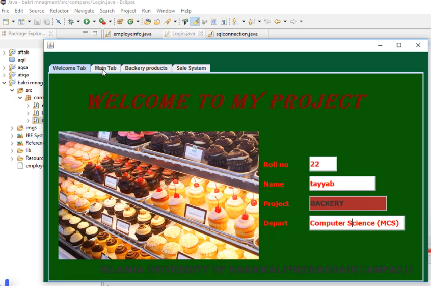 Bakri Management system Full Java Project With database | Download