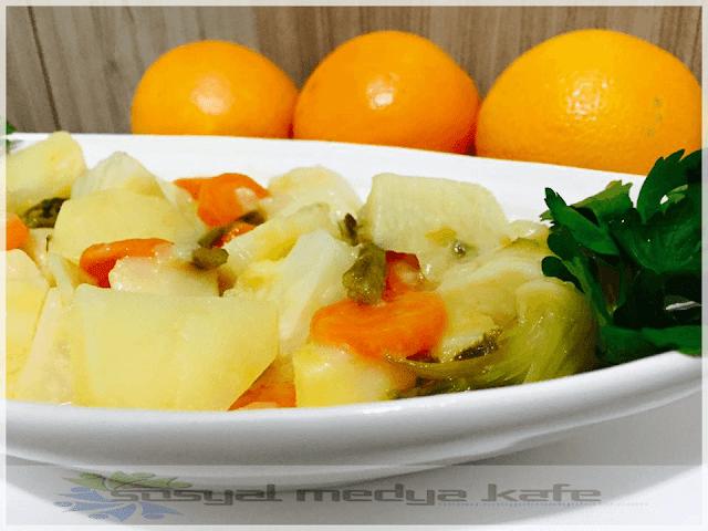Portakallı Kereviz Yemeği Nasıl Yapılır