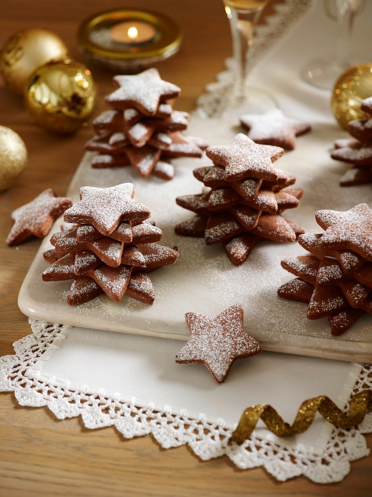 Potter's Chocolate And Cinnamon Malt Biscuit Stars