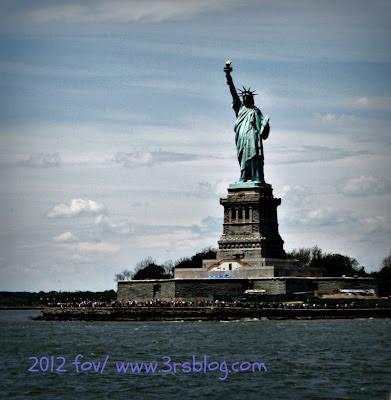 Statue of Liberty/Liberty Island, 6/3/12