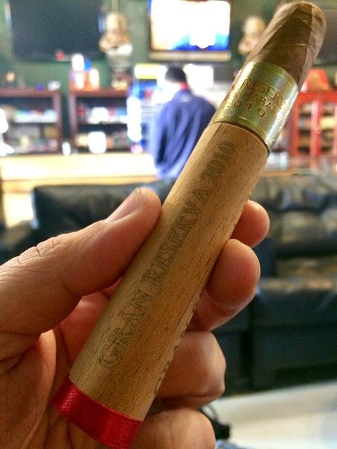 Gran Habano Gran Reserva #5 2010 cigar