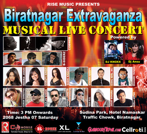 Biratnagar Extravaganza, Musical Live Concert | Glamour Nepal Blog